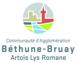 Logo de l'agglomération Béthune Bruay Artois Lys romane