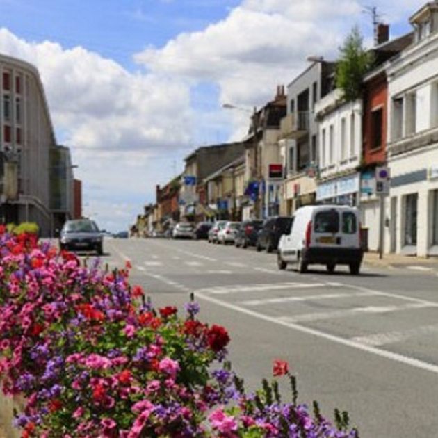 centre ville de Bruay-La-Buissiere