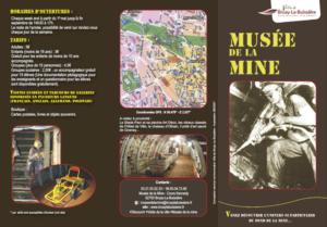 Plaquette musée de la mine de Bruay-La-Buissière