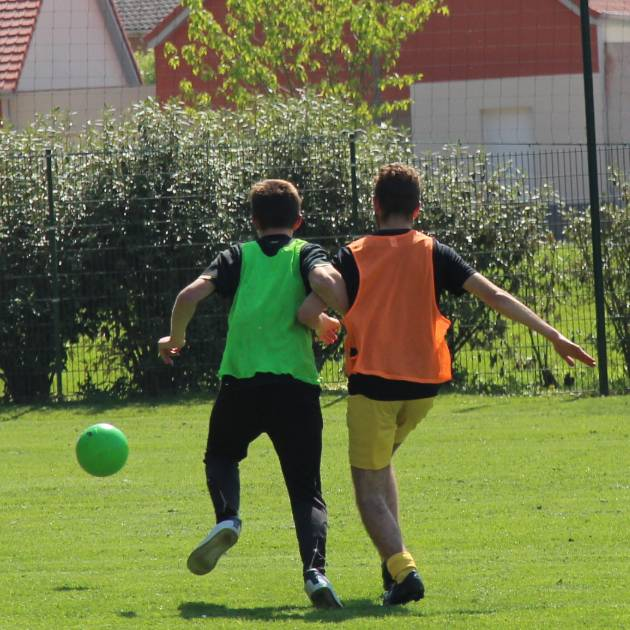 association football Bruay-La-Buissière