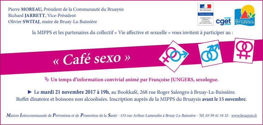 Invitation café sexo